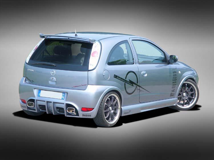 Aleron superior para Opel Corsa C fabricado por Cadamuro. El precio ...