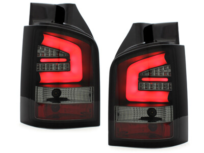 Focos Faros traseros LED VW T5 03-12/09 intermitente LED negro