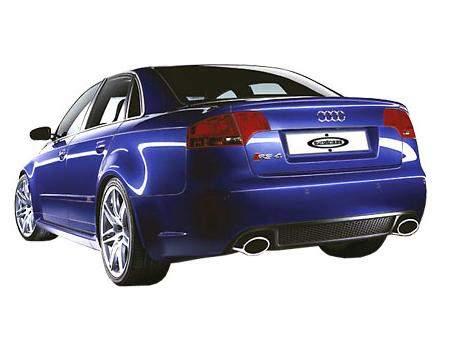 Parachoques Trasero Para Audi A4 05 Modelo Rs4