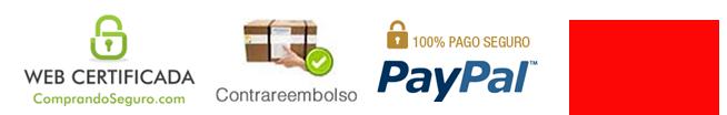 Aceptamos pago con PayPal, Contrareembolso