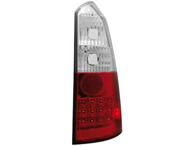 Focos traseros de LEDs para Ford Focus Turnier 99-05 rojos/claros