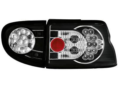 Focos traseros de LEDs para Ford Escort MK 6/7 93-00 negros