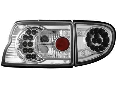 Focos traseros de LEDs para Ford Escort MK 6/7 93-00 claros