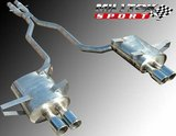 Cat-Back doble para BMW E39 M5 5.0 V8 Milltek Sport