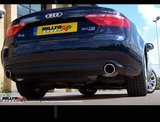 Cat-Back doble para Audi A5 3.0 TDI Milltek Sport