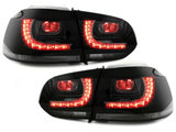 Focos Faros traseros LED VW Golf VI 08+ ahumado R-Look