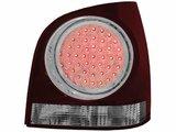 Focos traseros de LEDs para VW Polo 9N2 3+5T 01-05 rojos/claros