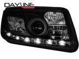 Focos delanteros luz diurna DAYLINE para VW Bora 98-05 negros