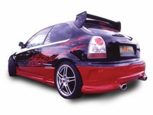 Aleron para Honda Civic Kit P&A Tuning