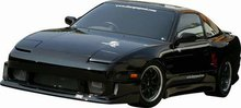 Taloneras Laterales Chargespeed para Nissan S13 180SX FRP