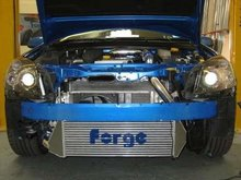Kit intercooler frontal Forge para Opel Astra OPC