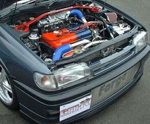 Kit intercooler frontal Nissan Sunny GTI-R Forge