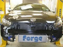 Kit doble intercooler Forge para VW Scirocco 2.0 TSI