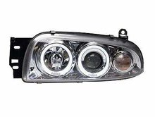 Focos delanteros Ford Fiesta angel eyes