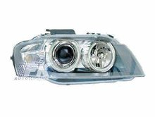 Focos delanteros Audi A3 Angel eyes