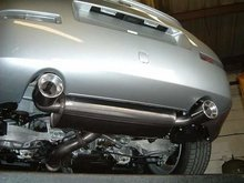 Linea Cat-Back en inoxidable Miltek para Nissan 350Z