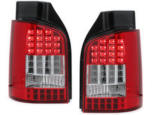 Focos Faros traseros LED VW T5 03-12/09 intermitente LED rojo/cr