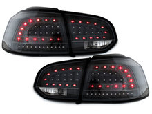 LITEC Focos Faros traseros LED VW Golf VI intermitente LED negro