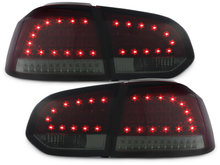 LITEC Focos Faros traseros LED VW Golf VI intermitente LED rojo/