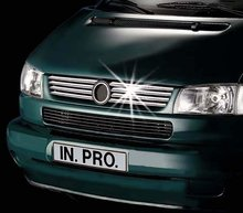 Lamas parilla acero inoxidable VW Transporter T4 90-96 In-Pro