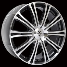 Kit 4 llantas Wolf Design Alloy Wheels VERMONT SPORT Gun metal/ polished face 8.5 x 20