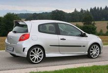 Faldones laterales taloneras para Renault Clio C kit Konigseder