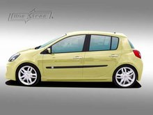 Taloneras laterales Renault Clio 05- Space Linextras