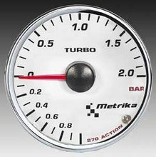 Reloj Presion Turbo Metrika 52mm