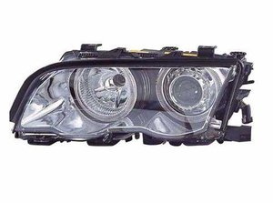 Focos delanteros Angel Eyes BMW E46 98-2001