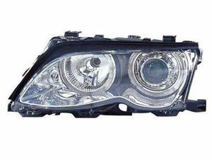 Focos delanteros Angel Eyes BMW E46 2001-2005