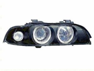 Focos delanteros angel eyes BMW E39 negros