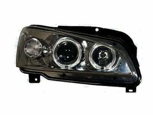 Focos Angel eyes Peugeot 106 color negro